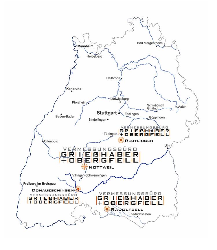 Standorte Grießhaber+Obergfell GbR